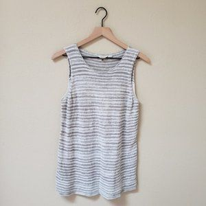Lucky Brand - Gray Sweater Tank Top